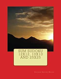 Sum Sudoku 12X12, 10X10 And 25X25