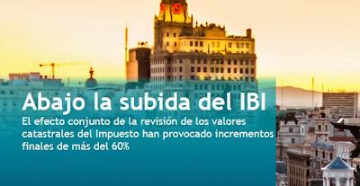 Abajo la subida del IBI