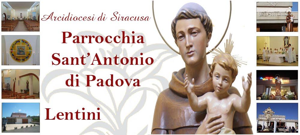 Parrocchia S. Antonio di Padova -  Lentini (SR)