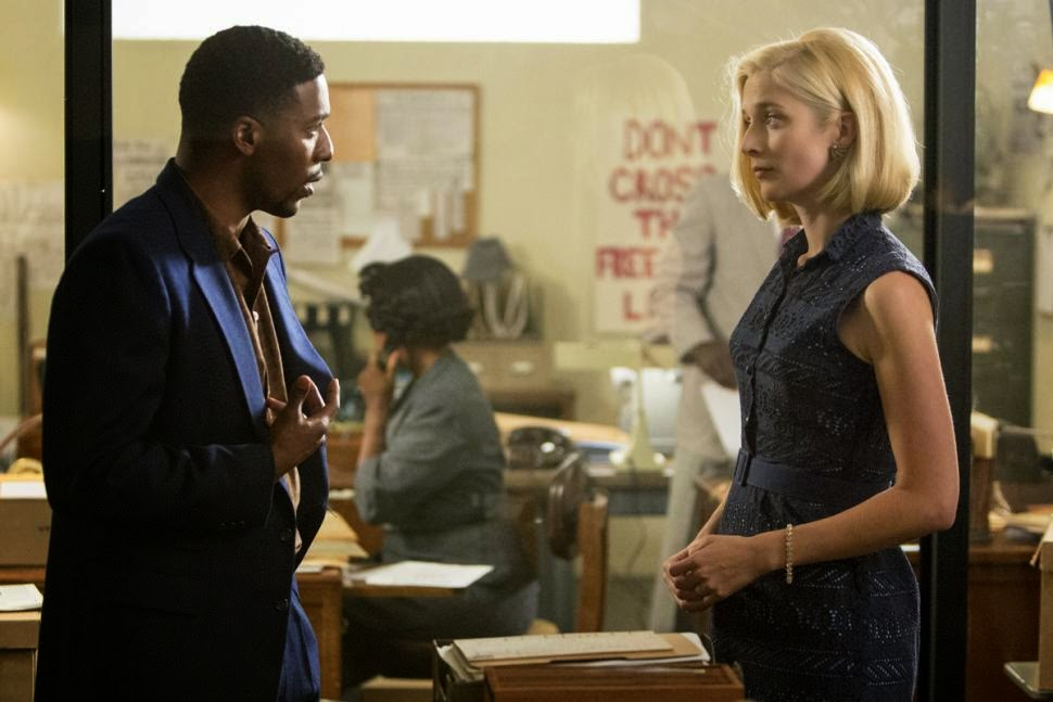 Robert y Libby en la oficina de apoyo a los derechos civiles