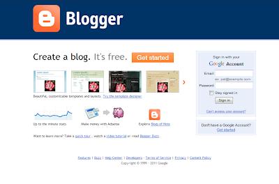 Blogger 2011