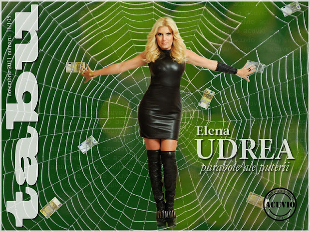 Elena Udrea Tabu - Funny photo retouch