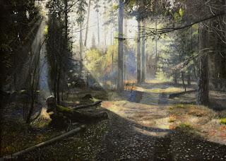 Callejones en Bosques Pinturas