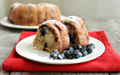 Very Berry Streusel Bundt