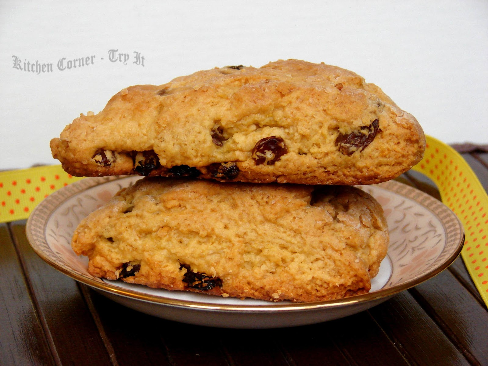 Kitchen Corner-Try It: Orange Raisin Scones