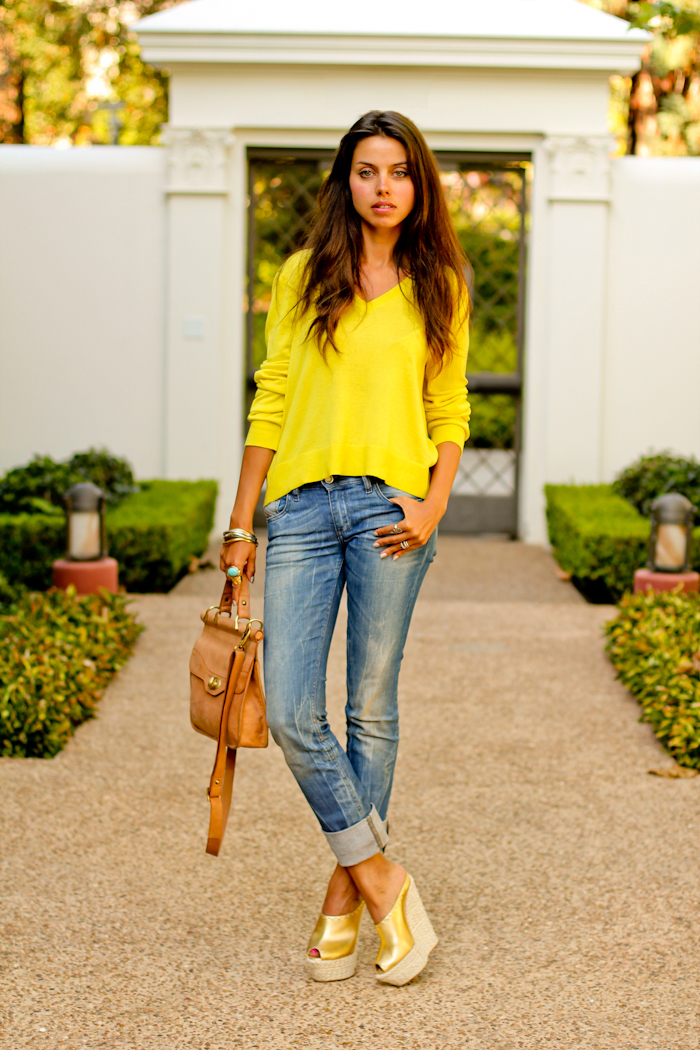 Vivaluxury Fashion Blog By Annabelle Fleur Mellow Yellow A Day With My Family