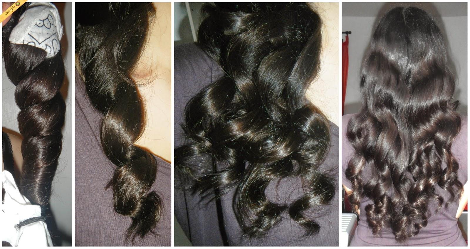 Astuce beau cheveux long