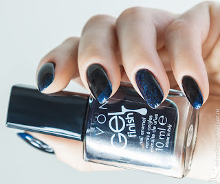 Avon Gel Finish Antarctic + Nailwear Pro+ Celestial Blue + Nailwear Pro Splendid Blue