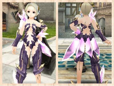 魔結晶の鎧・重量化