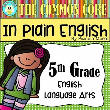 ELA CC Resource - 5th Grade
