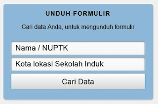 Verifikasi NUPTK Online Padamu.Kemdikbud.Go.Id