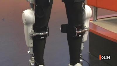 Robothjälpmedel för stroke-patienter. Foto: SVT