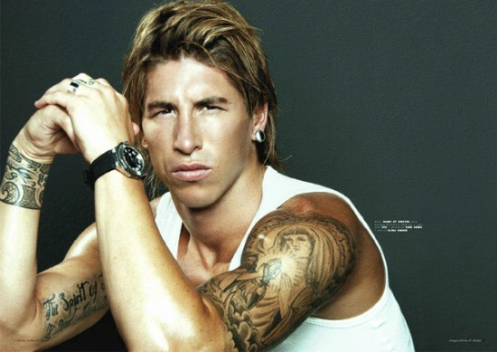 Personality and modern lifestyle sergio ramos tattoo - Sergio madrid ...