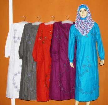 Gamis Abaya Gk2234 Grosir Baju Muslim Murah Tanah Abang