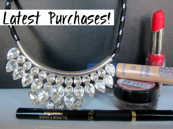 Latest Accessory and Budget Beauty Buys