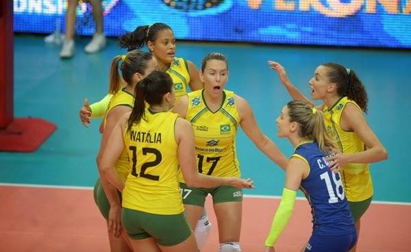 Brasil vence Estados Unidos e garante liderança do grupo