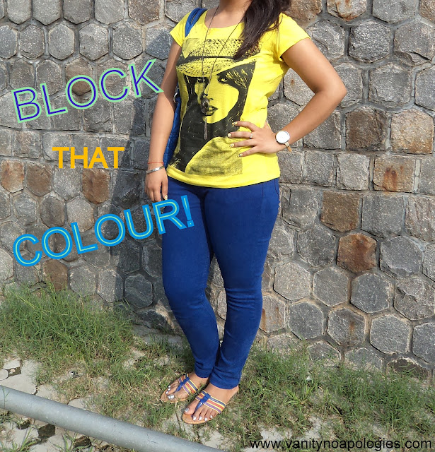 colour block outfit