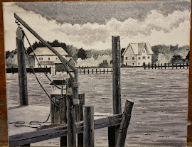Acrylic on Canvas/Ocracoke Island, NC