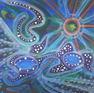 Dinâmica da Pintura Coletiva - Mhaya Treinamentos por Myrian Mourão