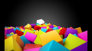 3D Colorful Square