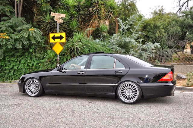 Mercedes Benz S500 W220 Brabus Style Benztuning