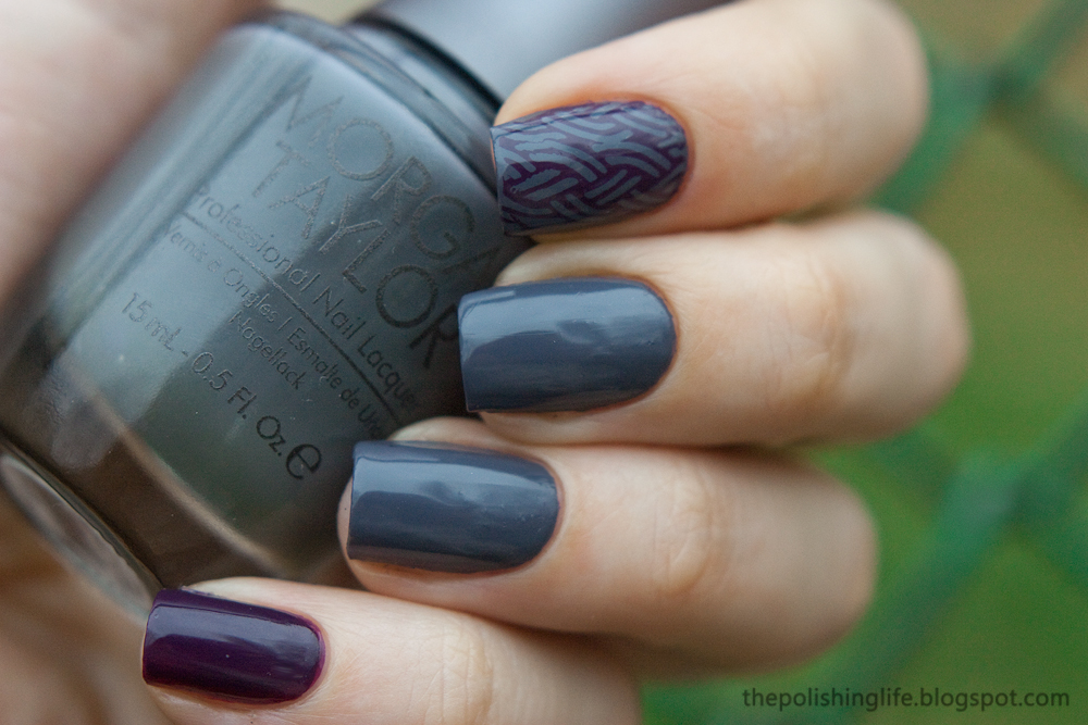 Morgan Taylor: Sweater Weather & Royal Treatment swatches and review