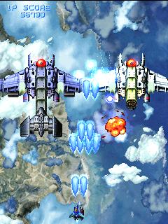 XII Stag arcade videojuego portable descargar gratis bullet hell shoot'em up