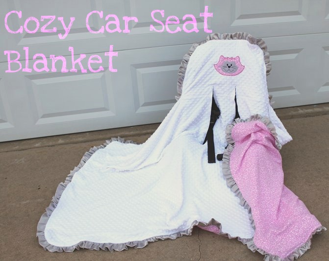 cole 39 s corner and creations baby car seat blanket. Black Bedroom Furniture Sets. Home Design Ideas
