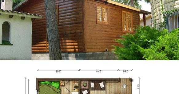 Requisitos Baño Adaptado:Planos de Casas Pequeñas: Plano Casa 30 m2