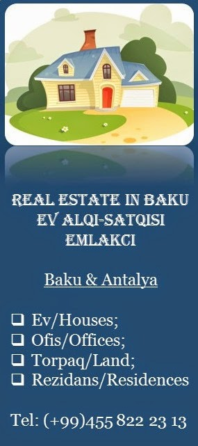 Real Estate in Baku&Antalya