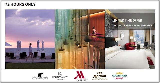 訂完就無,快搶!泰國萬豪酒店【Flash Sale】,低至半價,只限3日,至6月28日止。