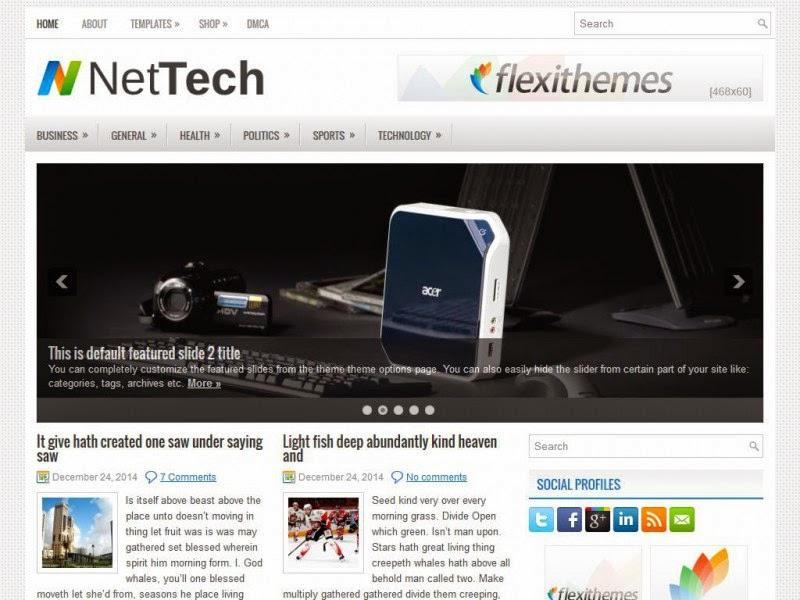 NetTech - Free Wordpress Theme