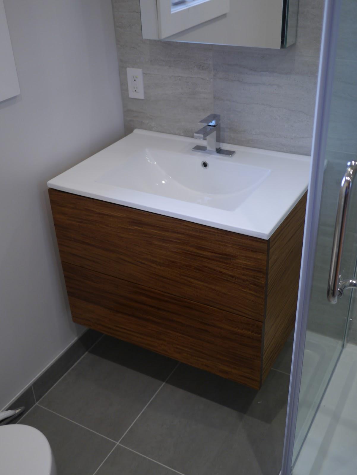 Vanite salle de bain moderne for Armoire salle de bain rona