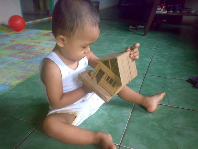 Belajar Membuat Barang Kerajinan Dari Limbah Bambu