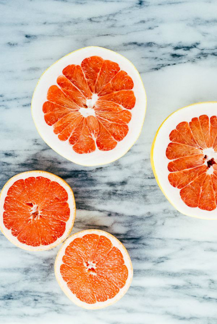 grapefruit, food photography