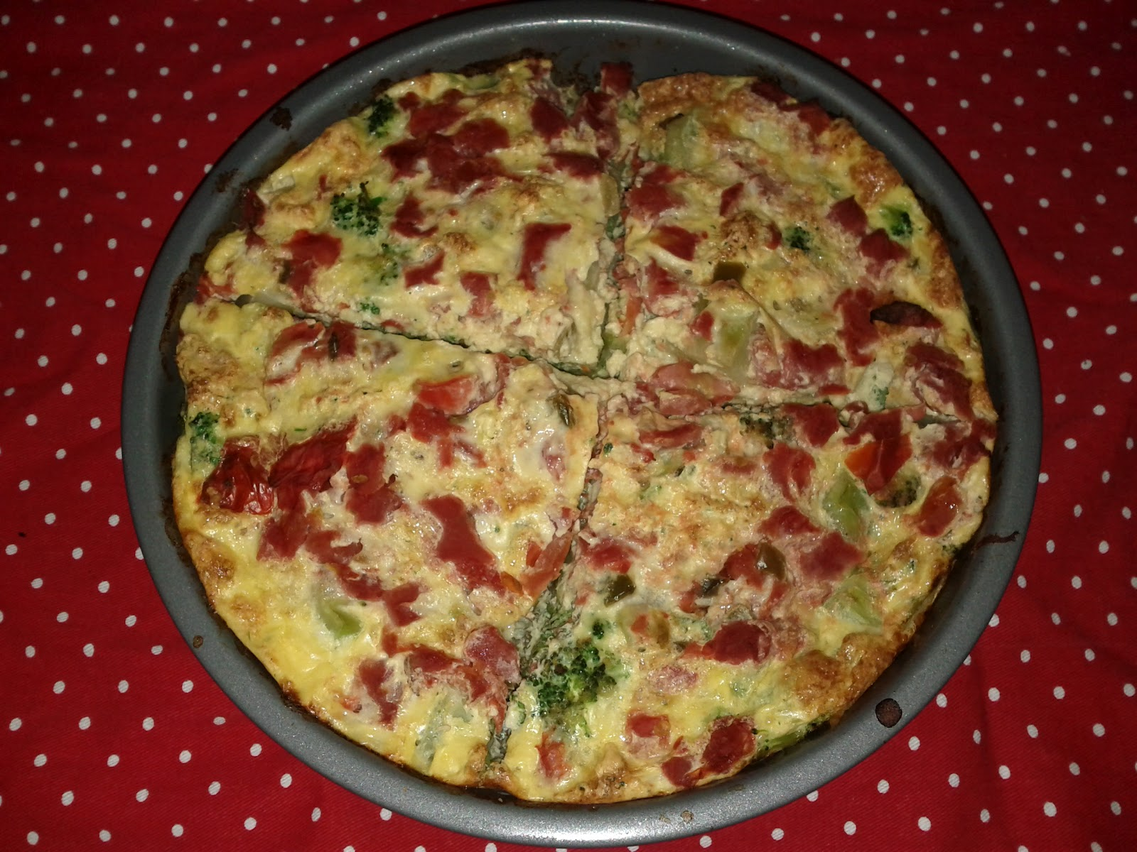 New Beautiful Me: Broccoli and Gruyere Frittata