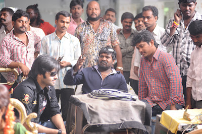 Kandireega Movie Working Stills, Ram Hansika Kandireega Movie On Location Photos function pics
