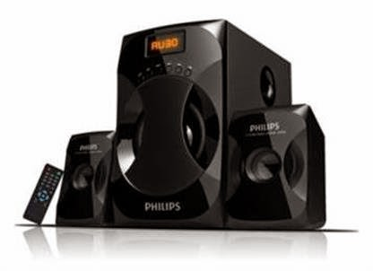 Buy Philips MMS4040F 2.1 Multimedia Speaker for Rs 1999 only + Rs 36 cashback