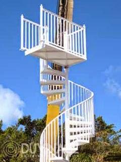 para el diseo de una escalera en espiral basta con cargarla a tu proyecto y podrs aplicar los diferentes acabados a las escaleras que ya creaste