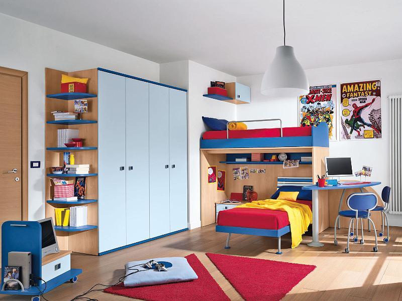 Habitaciones infantiles para dos ni os ideas para for Cuartos de ninos infantiles