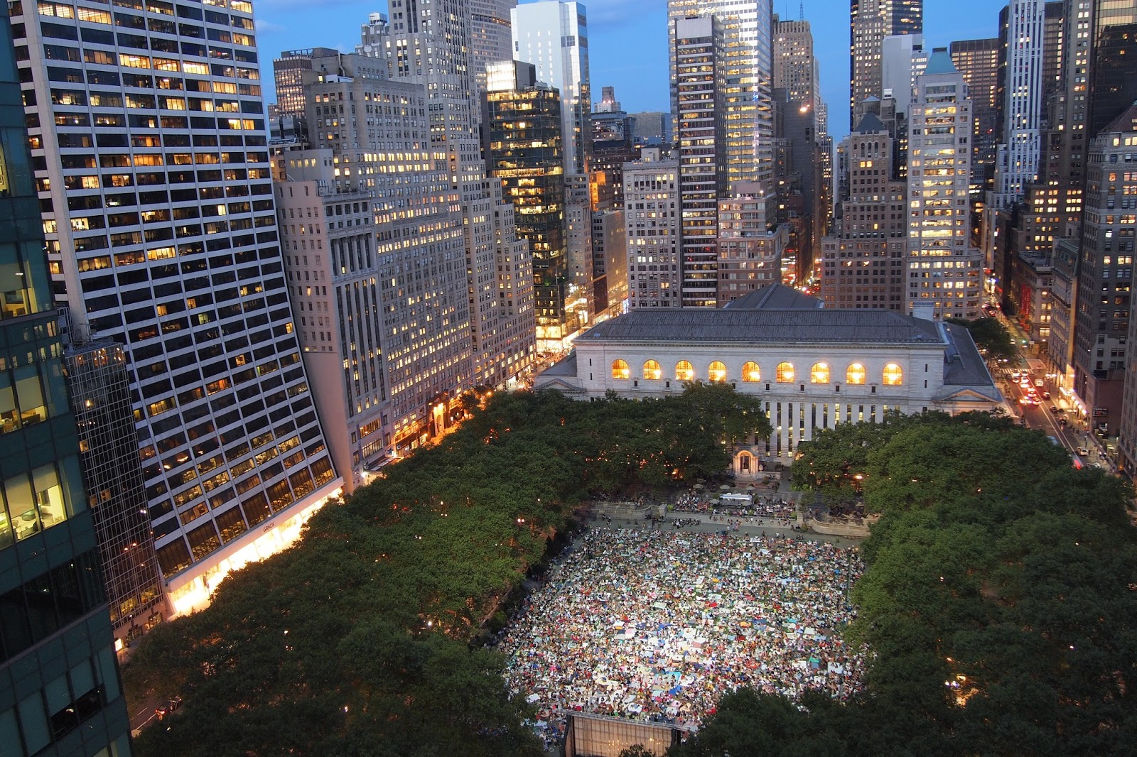 Bryant Park Blog: Ten Classic Nights with HBO Summer Film Fest