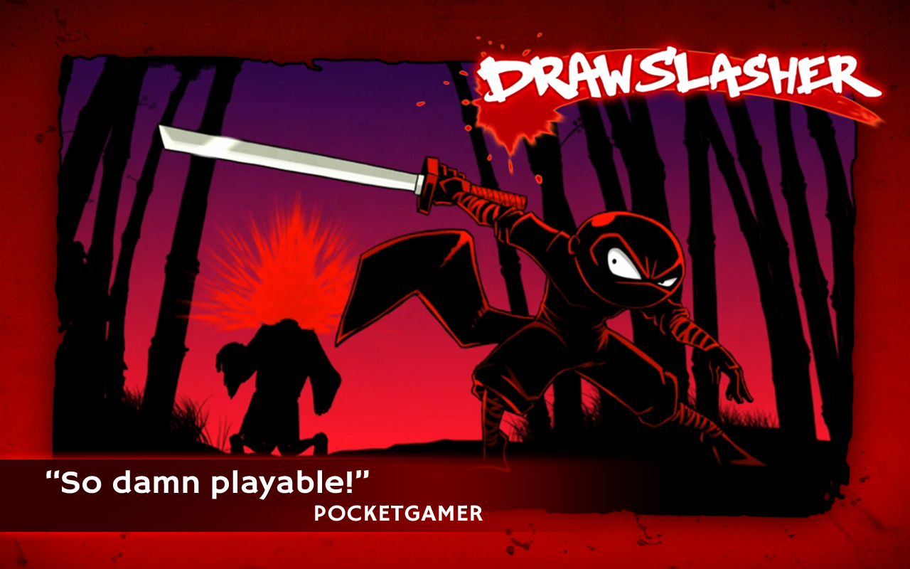DRAW SLASHER by Mass Creation APK Obb