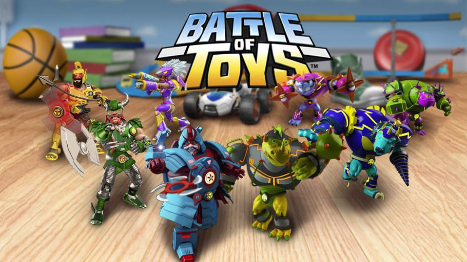 Battle of Toys Gameplay IOS / Android