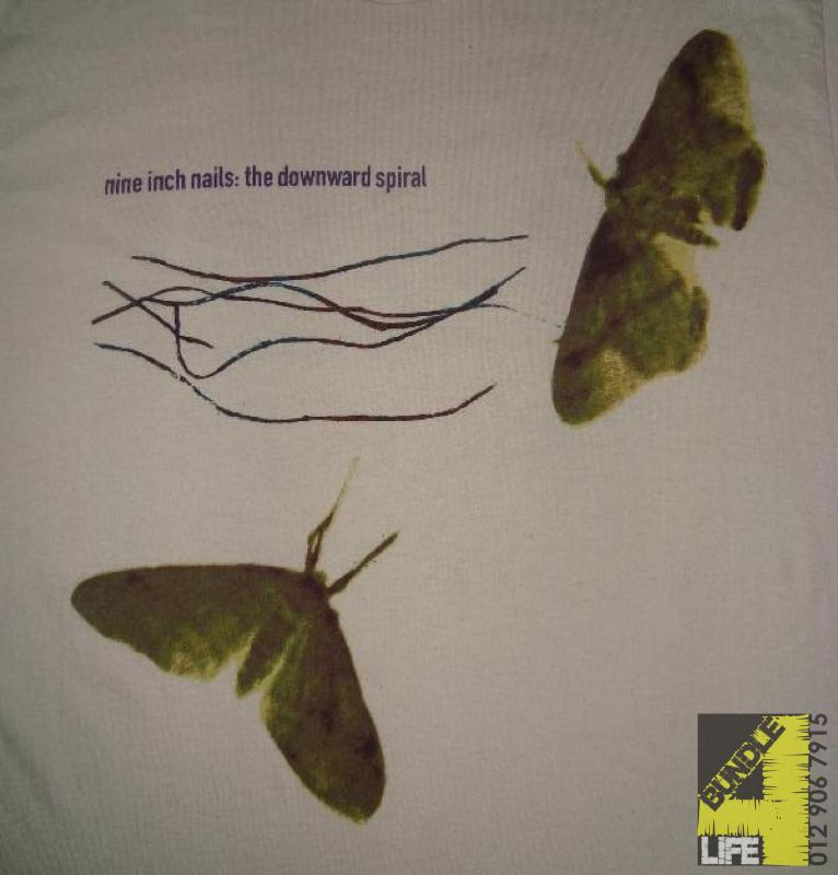 Nine Inch Nails : The Downward Spiral shirt (SOLD) | Bundle4Life