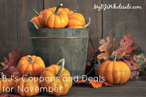 BJs Coupons and Deals for November