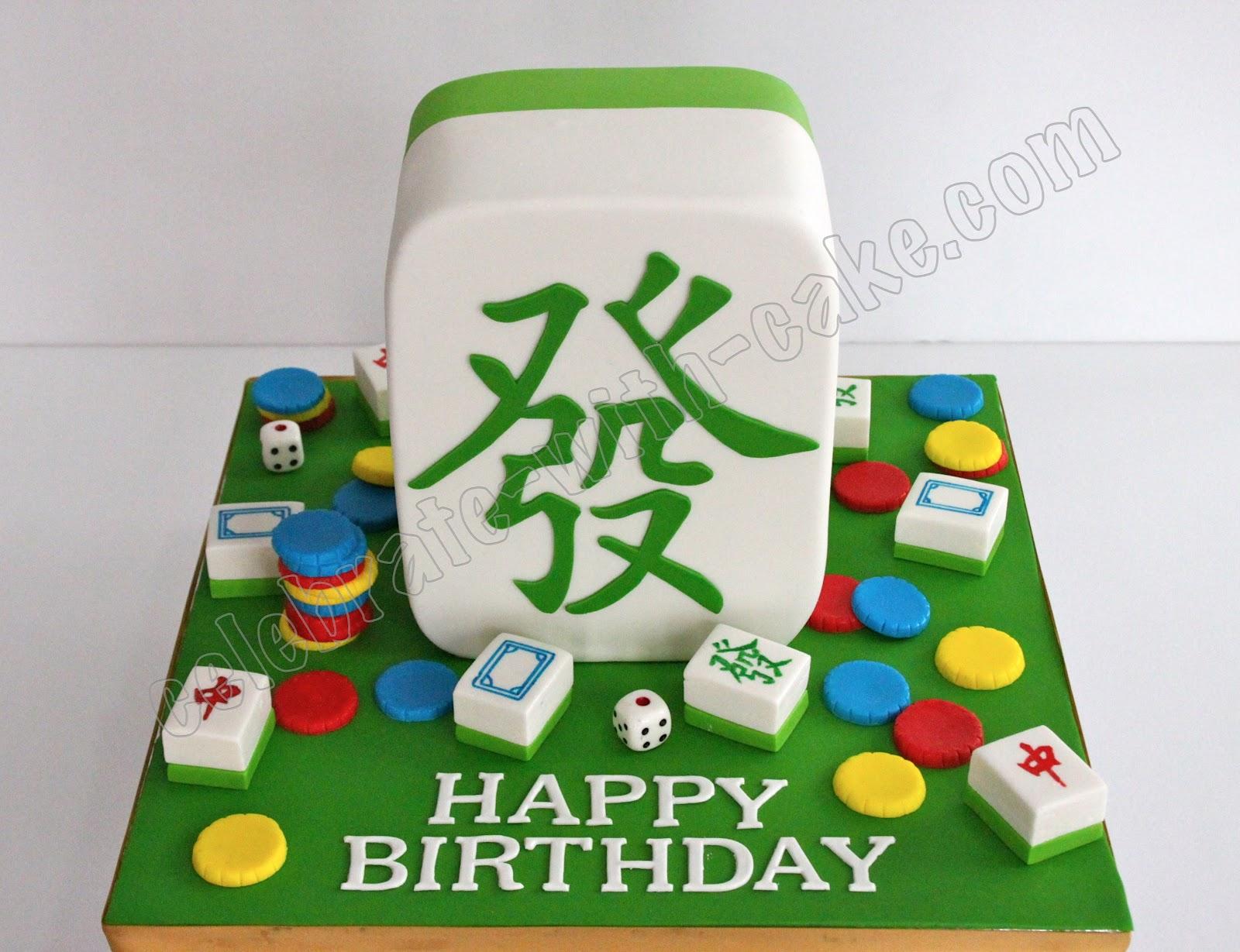 Mahjong Cake Singapore