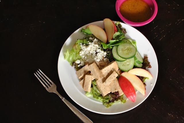 Asian Crispy Tofu Salad Recipe - Tastyfix