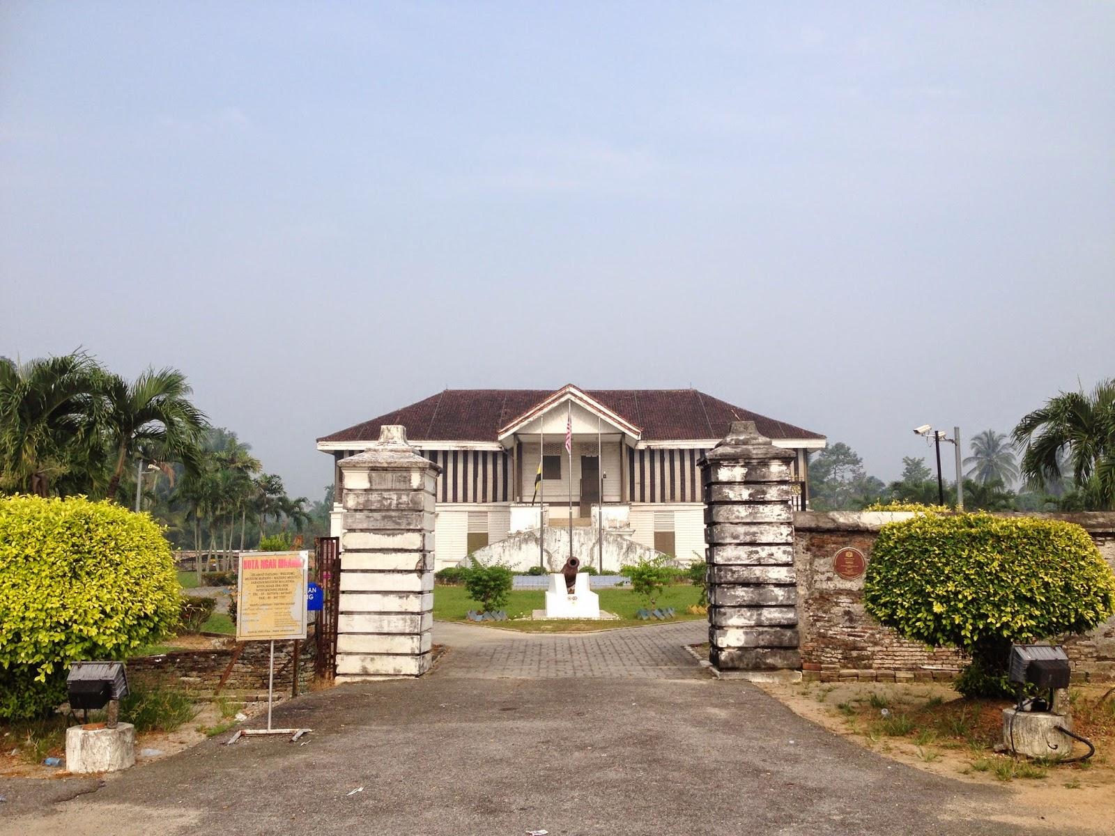 Kota Ngah Ibrahim entrance