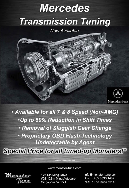 Mercedes Transmission Tune