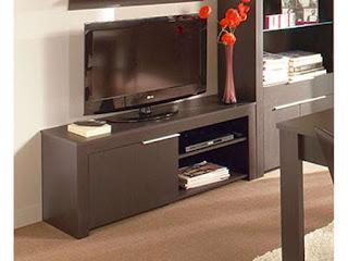 Meuble TV conforama wengé